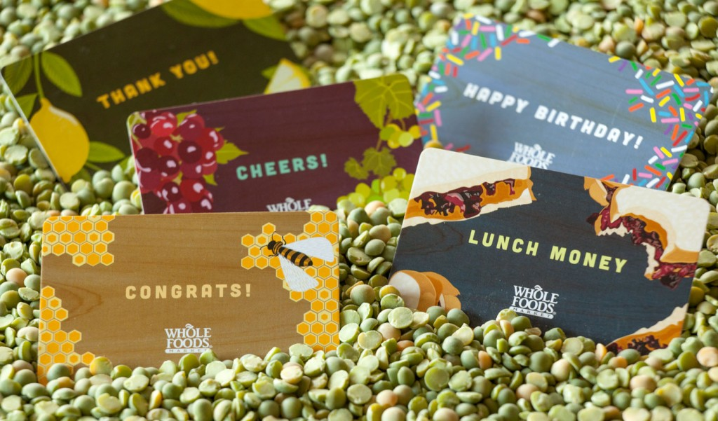 Jill Visit Whole Foods Market Gift Cards 2013 - Jill Visit